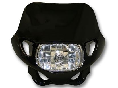 Picture of HEADLIGHT - BLACK